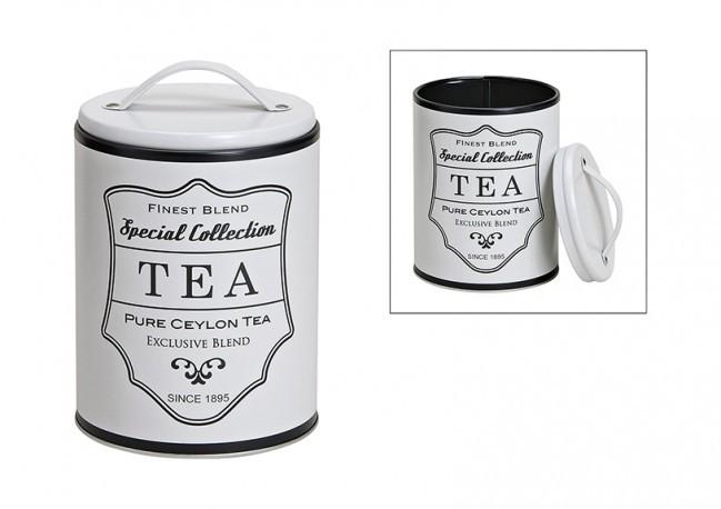 Dose, weiß Tea