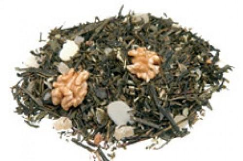 Grüner Tee Wallnuss