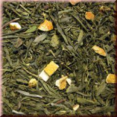 Grüner Tee Orange