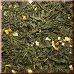 Grüner Tee Zitrone-Lemon