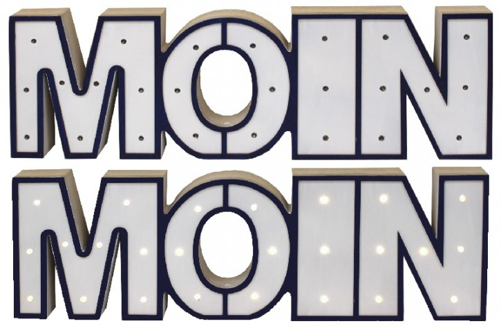 Moin, LED
