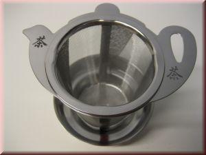 TZ02 Teesieb Teekanne