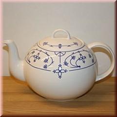 Teekanne Indisch-Blau 1.2l