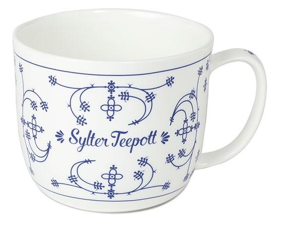 Indisch-Blau Sylter Teepott, 700 ml