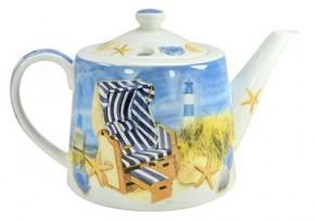 Teekanne Stranddesign